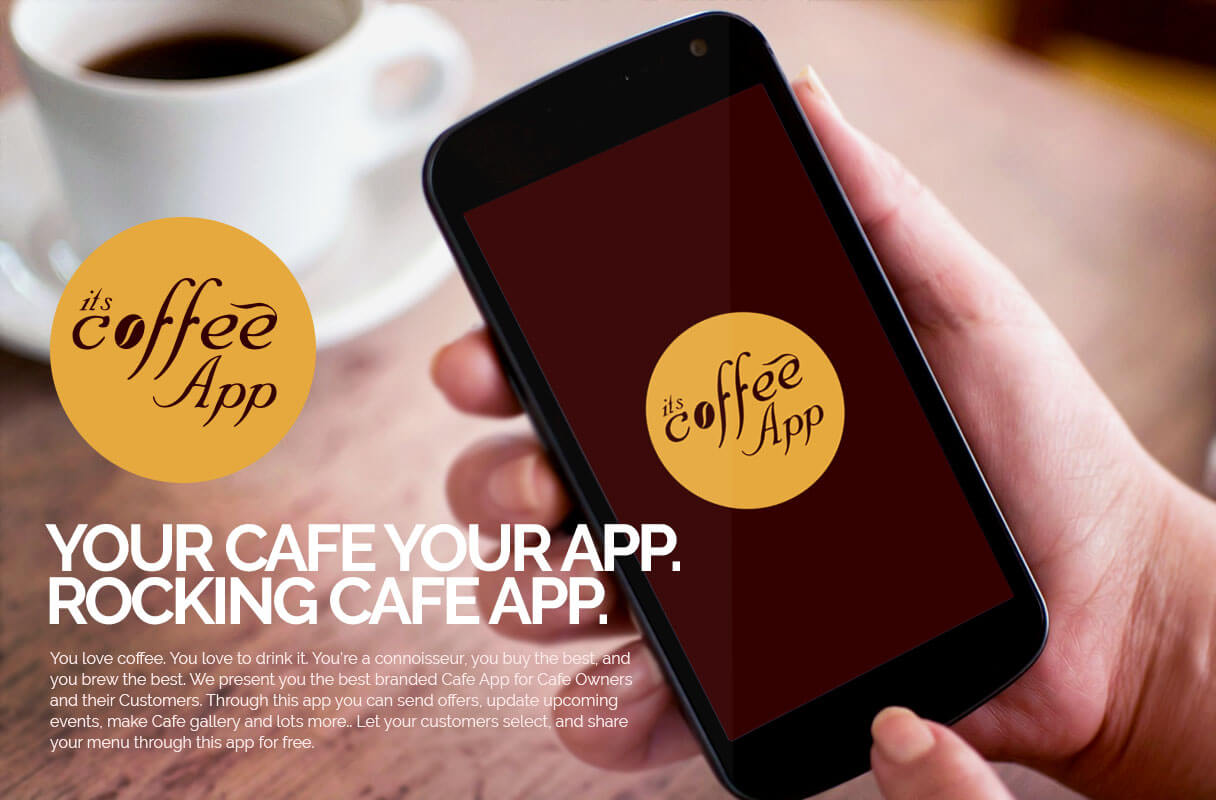 coffe shop android app