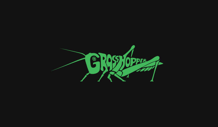 grasshopper clothing store branding