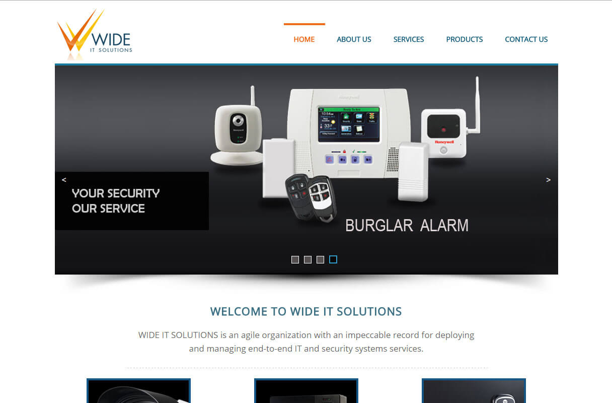 it solution firm-website theme